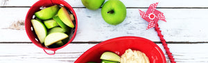 image of apples and butter