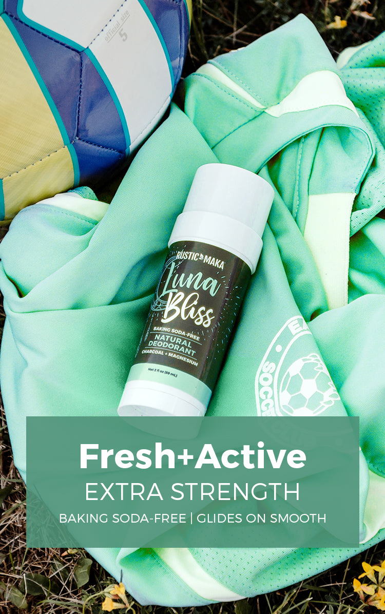 Fresh+Active NATURAL DEODORANTS