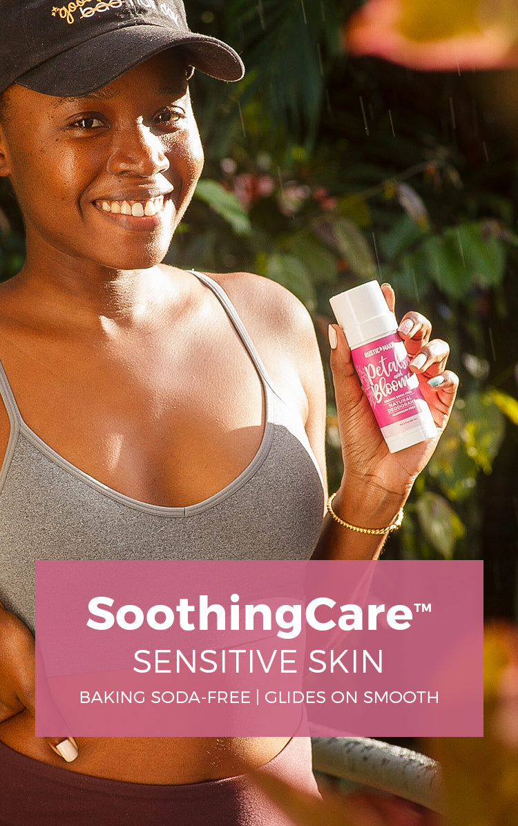 SoothingCare™ NATURAL DEODORANTS