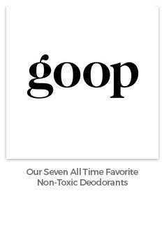 goop list of favorite deodorants