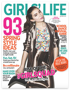 Girls' Life Magazine feature Rustic MAKA Pachy Calming Fields natural deodorant