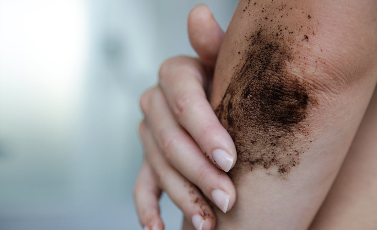 rough dry patches