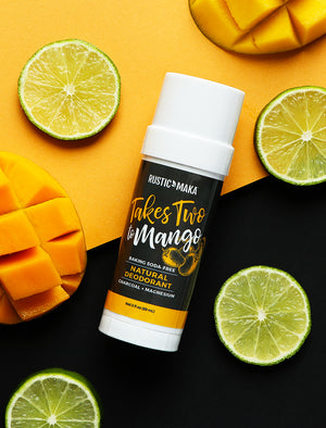 picture of mango and lime natural deodorant