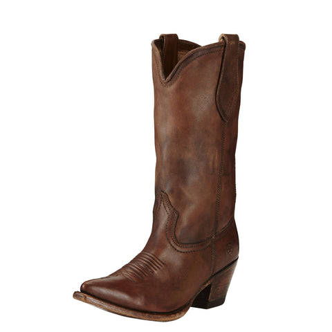 Ariat® Women's Josefina Distressed Brown Cowgirl Boots [10019979]