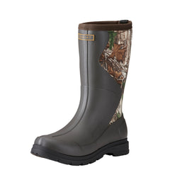 Ariat®Women's Springfield Dark Brown Realtree Xtra Rubber Boot [10021521]
