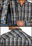 Rock and Roll Cowboy Men's Button Down [B2D8406]