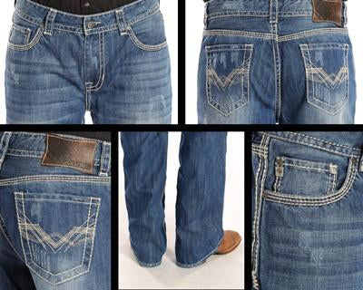 Rock and Roll Cowboy Men's Double Barrel Relax Fit Jeans [M0D2172]