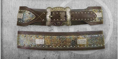 Roper Women's Distressed Western Belt [8493790]