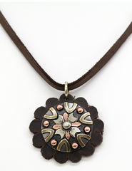 Augus Silversmiths Roset Necklace [AC116]