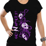 GetNAfterit Women's Skull Shirt Small [1000000164]