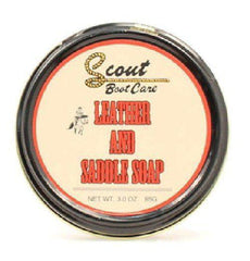 Scout Leather Saddle Soap Protects Restores [03620]