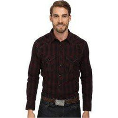 Rock and Roll Cowboy Long Sleeve Western Snap Shirt [B2S1365]