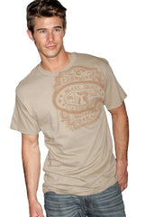 Southern Thread Shirt Men Classic Brand Tee S/S Brown [STT8900072]
