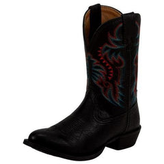 Nocona Kid's Rodeo Black Western Boots [NK3000]