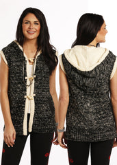 Panhandle Slim Women's Hooded Sweater Vest [49V8992]