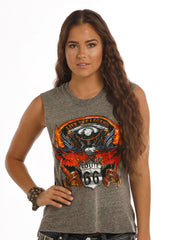 Panhandle Slim Women's Route 66 Tank [49-1202]