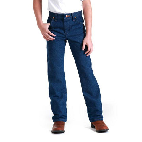Wrangler Boys Cowboy Cut Original Fit Jeans [13MWZBP]