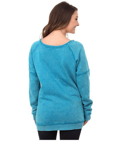 Rock and Roll Cowgirl Knit Pullover with Rhinestones [48T4253]