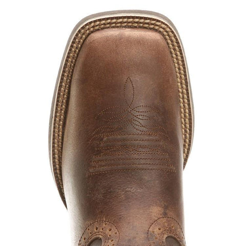 Justin Men's Silver Antique Brown Cowboy Boot [SV7216]