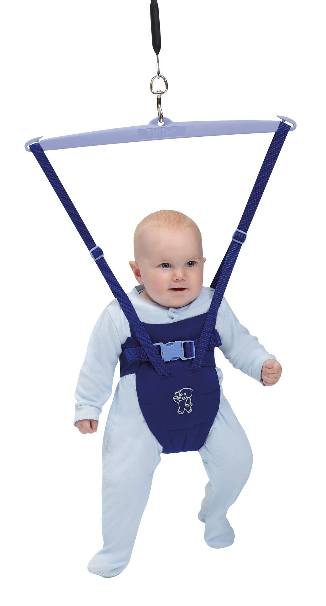 Tippitoes Baby Bouncer - Blue - Tippitoes Development