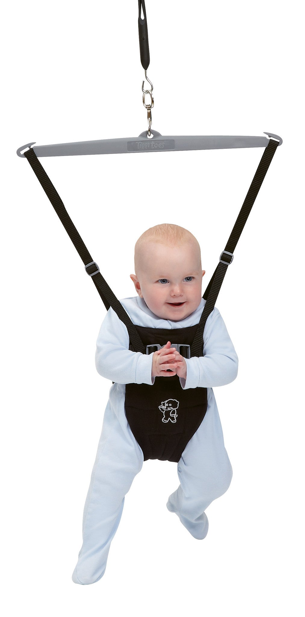 Tippitoes Baby Bouncer - Black - Tippitoes Development