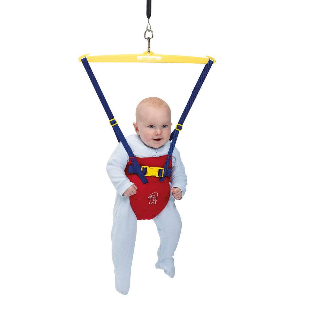 Tippitoes Baby Bouncer - Red - Tippitoes Development