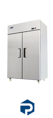 IN STOCK Atosa Two Door Refrigerator MBF8005 - Polar Sales & Leasing