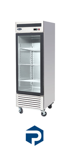 IN STOCK Atosa One Glass Door Merchandiser Refrigerator MCF8705 - Polar Sales & Leasing