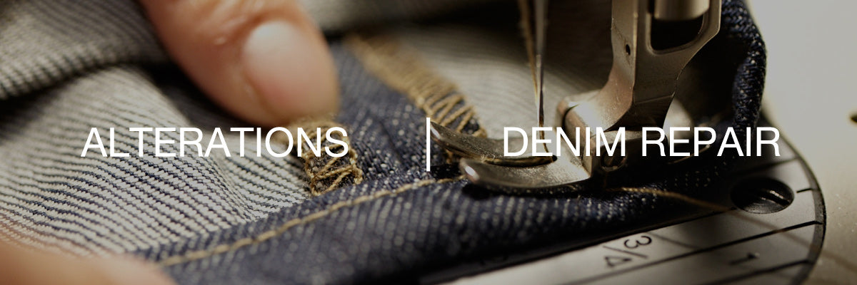 Alterations and Denim Repair