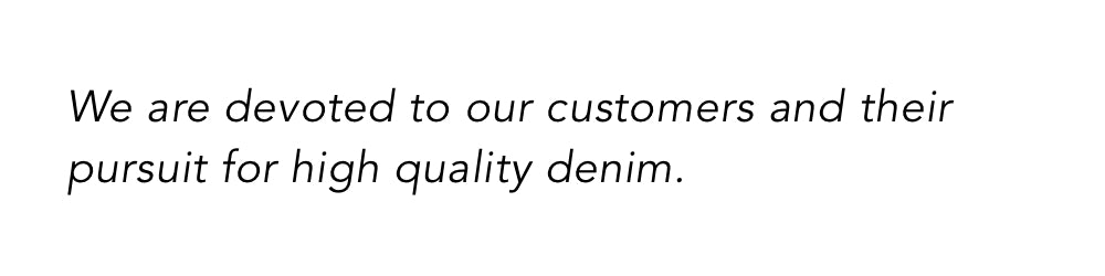 brooklyn denim quote