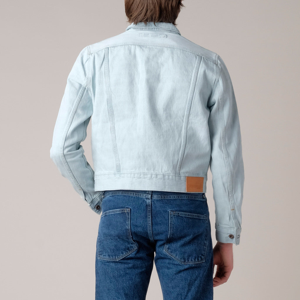 BDC Denim Jacket; BDC Denim Jacket Bleach Out