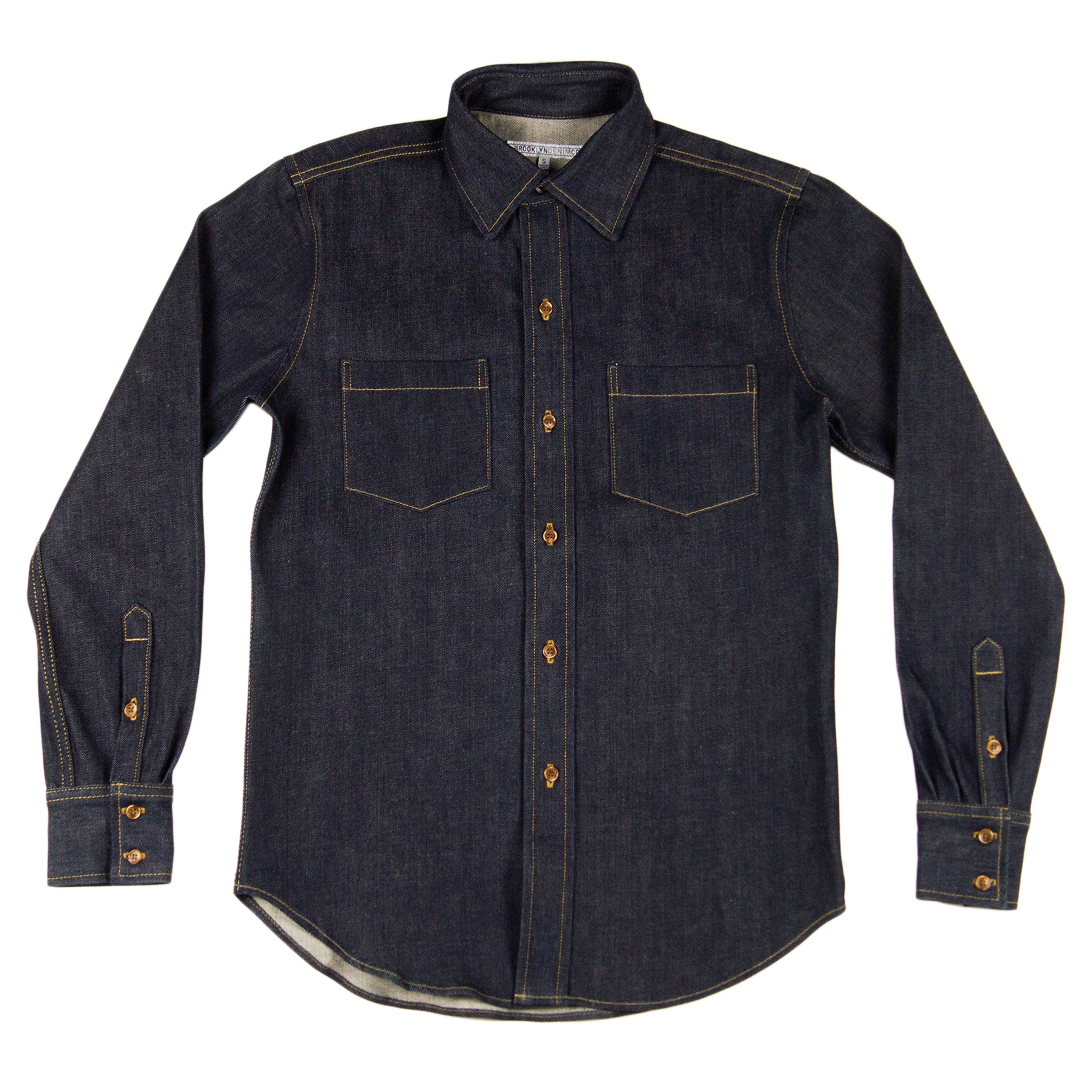 f7beacf985f Brooklyn Denim Co. Denim Shirt Rigid USA Made