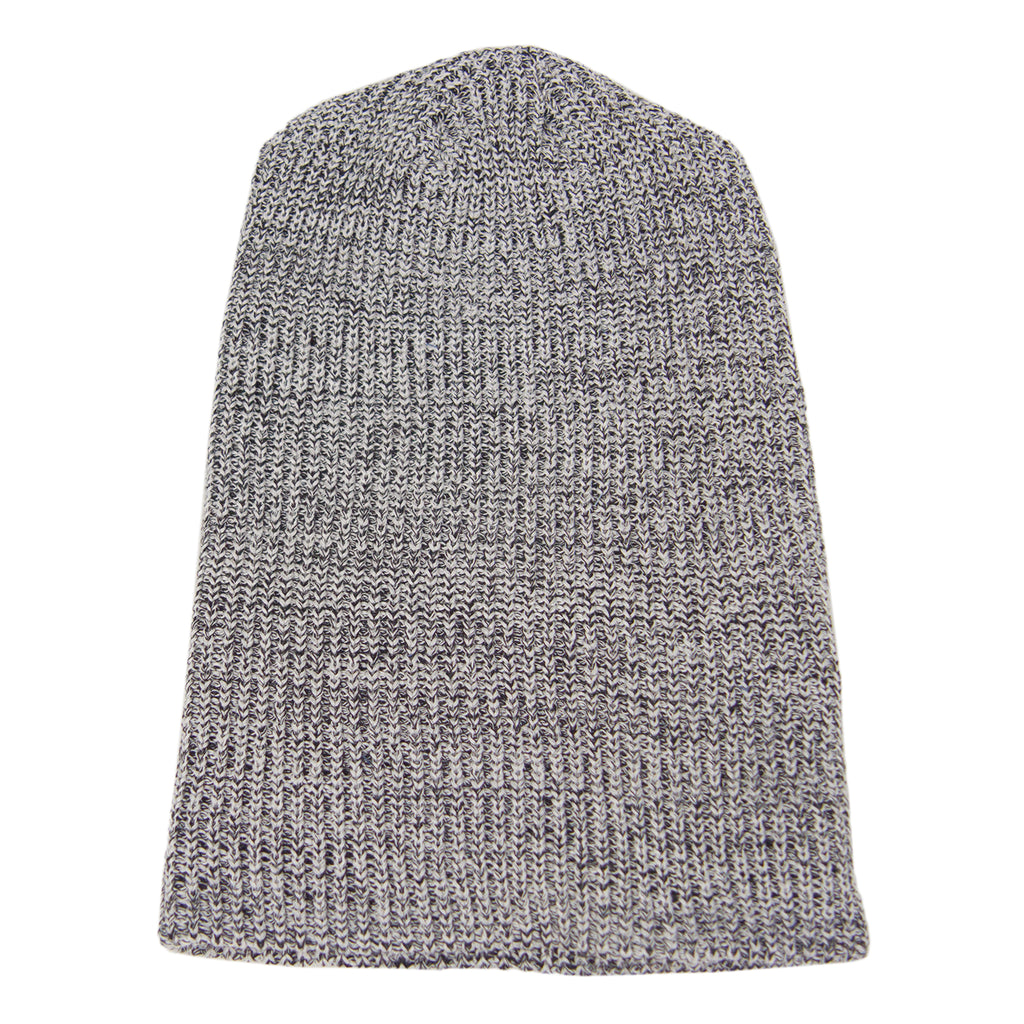 Brooklyn Denim Co. Recycled Tall Beanie Salt + Pepper USA Made