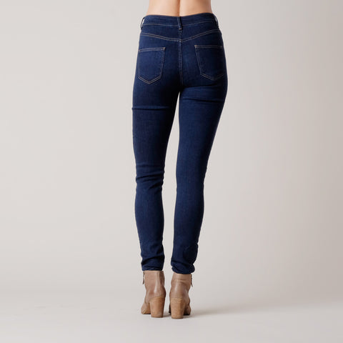 Brooklyn Denim Co. Womens High Rise Skinny Jean