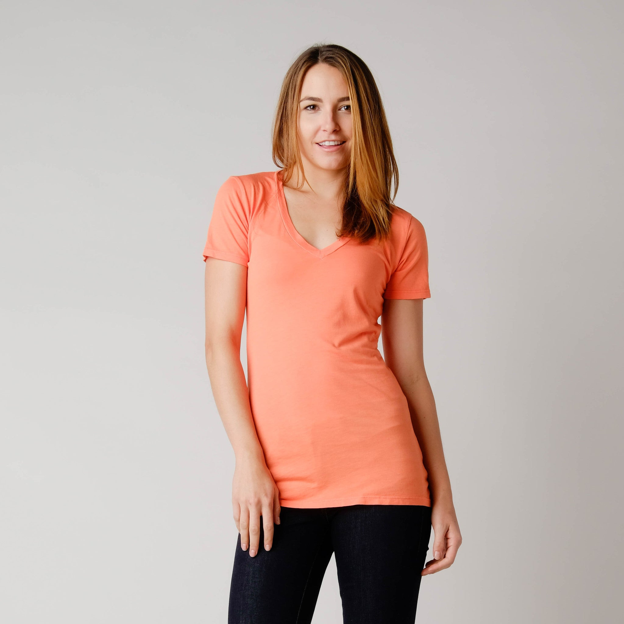 BDC Hemp/Organic Cotton Vee Neck Tee Kombucha