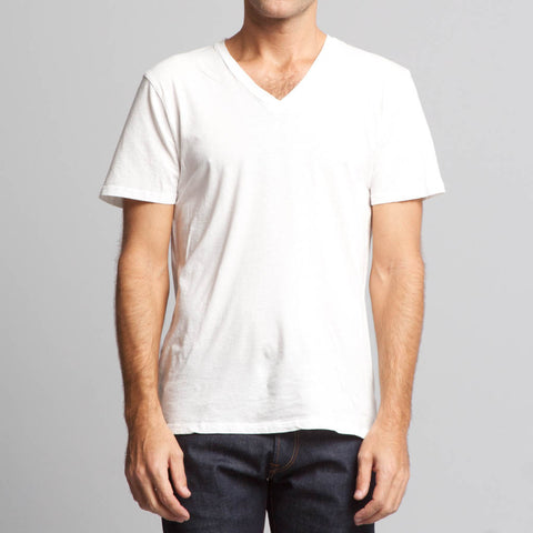 Brooklyn Denim Co. Vee Neck Tee Hemp Organic Cotton