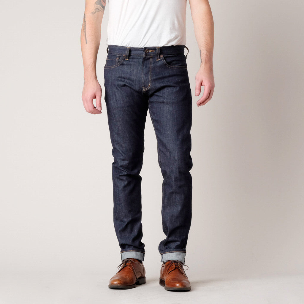 Brooklyn Denim Co. Mens Skinny Stretch Selvedge