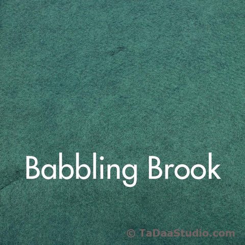 Babbling Brook Wool Felt