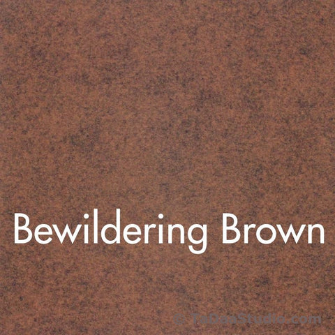 Bewildering Brown Wool Felt