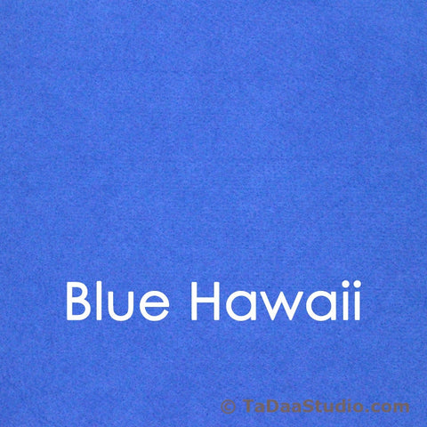 Blue Hawaii Bamboo Felt