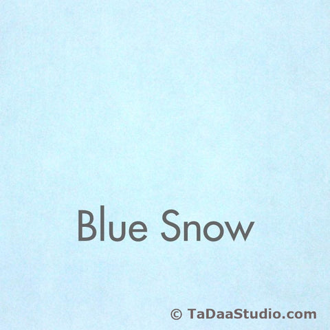 Blue Snow Wool Felt
