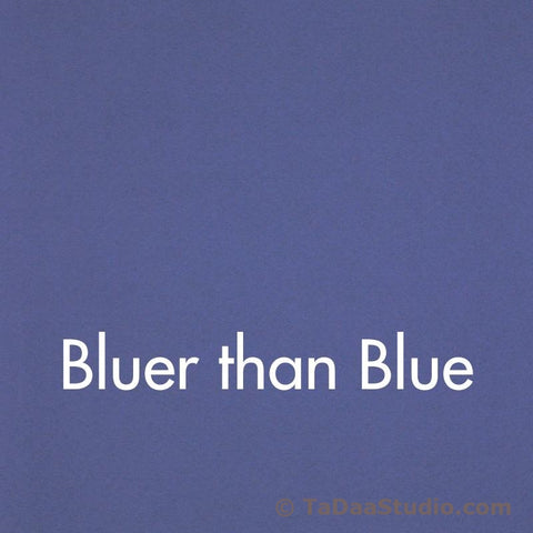 Bluer Than Blue Wool Felt