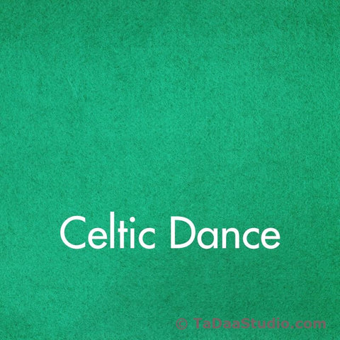 Celtic Dance Wool Felt