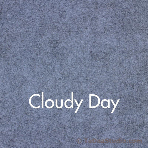 Cloudy Day Wool Felt