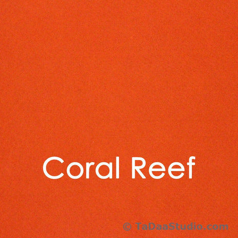 Coral Reef Bamboo Felt