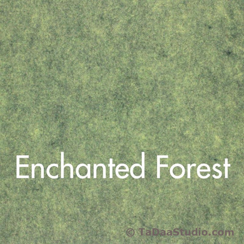 Enchanted Forest Wool Felt