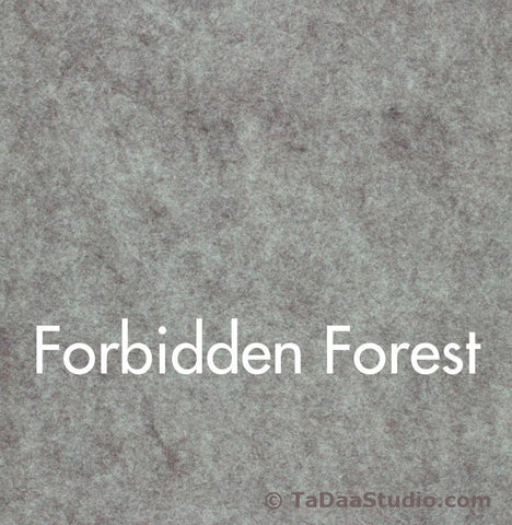 Forbidden Forest Wool Felt