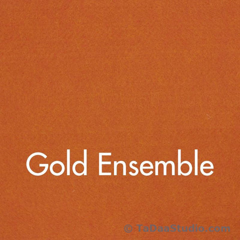 Gold Ensemble Wool Felt