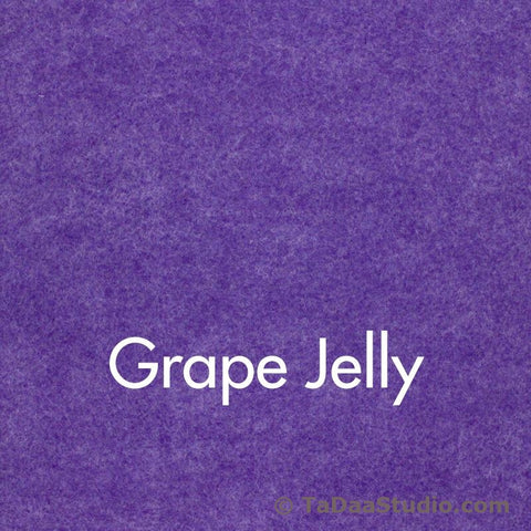 Grape Jelly Wool Felt