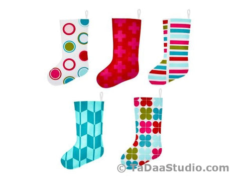 HGTV Cover Wool Felt Christmas Stocking Kits